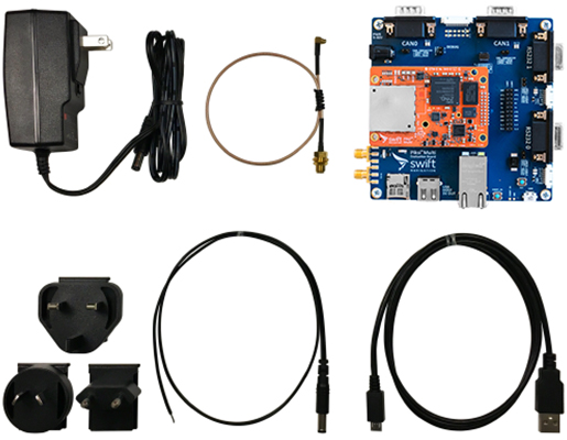 Piksi Multi GNSS Receiver Pack